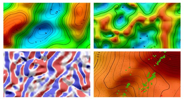 Interpretive Gravity Maps